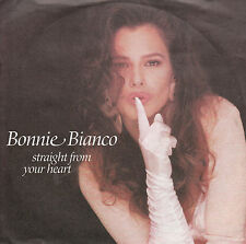 "7"" 45 TOURS ALLEMAGNE BONNIE BIANCO ""Straight From Your Heart +1"" 1989"