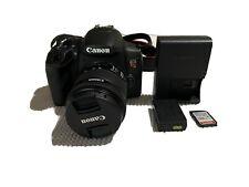 Canon EOS Rebel T8i 24.1MP DSLR Camera - Black (EF-S 18-55mm f/4-5.6 IS STM)