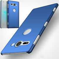 For Sony Xperia Phone Case Slim Shockproof  Hard PC Back Matte Cover Protective