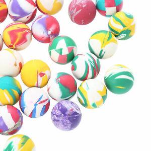 100 Flummi Ball Flummis 25mm Bouncing Springball Gummi Hüpf Spielzeug Mitgebsel
