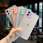 Camera Protection Matte Clear Case Cover For iPhone 12 11 Pro Max SE 2 XS XR 8 7