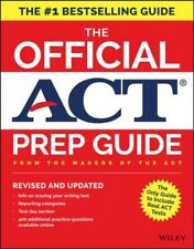 The Official Act Prep Guide, 2018 Edition, Revised  And Updated  (book + Bonu...