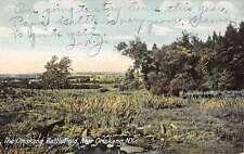 Oriskang New York Battlefield Scenic View Antique Postcard K27785
