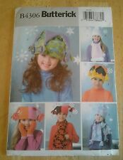 Butterick pattern B4306 Hat and scarf