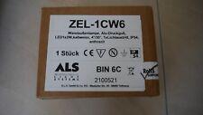 ALS Wandaussenlampe ZEL-1CW6, Alu-Druckguß, LED1x2W, kaltweiss, 4°/30°, IP45