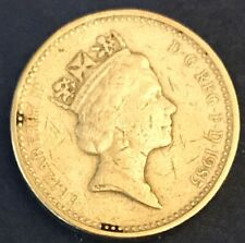 Great Britain 1985 1 Pound Coin. Average Circulated.