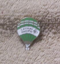 """CATHAY PACIFIC 7/8"""" BY 1 1/4"""" BALLOON PIN"""