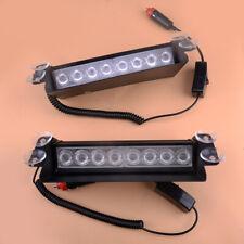 Useful 8 LED 3In1 Car Dash Emergency Strobe Flash Light Bar Warning Traffic Lamp