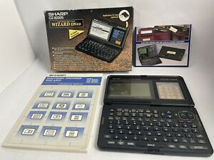 Sharp OZ-8200S Wizard 128kb  Electronic Organizer with All Original Packaging