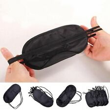 Comfortable Travel Eye Mask Sleep Sleeping Cover-Eyepatch Blindfold-Black