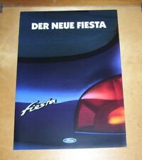 FORD DER NEUE Fiesta sales brochure August 1995 Focus Flair Fun GHIA en allemand