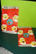 Nickelodeon SpongeBob Square Pants Christmas Ornaments 10 Piece NEW