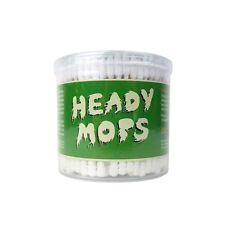 New Heady Mops Cotton Swabs Double Tip 300 Ct US Seller New Improved Glob Tech