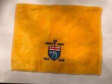 North West Golf Club Golf Towel Lisfannon Buncrana Co Donegal Ireland Gift