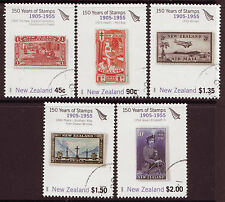 NEW ZEALAND 2005 150 YEARS NEW ZEALAND STAMPS SET OF 5 , FINE USED