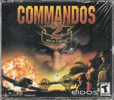 Commandos 2 Men of Courage (Rated Teen) - CD-ROM - VERY GOOD