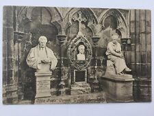 Westminster Abbey Little Poets Corner Black and White Postcard A12