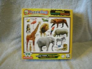 New 24 Piece Animals Puzzle