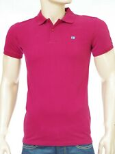 SCOTCH & SODA Polo homme bordeaux Classic Clean Pique POLO Berry taille S
