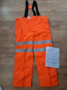 Ballyclare Limited FR Arc Protection Waterproof Trouser Hi Vis Size XP railway