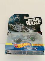 Hot Wheels Star Wars  Tie Fighter Car Figure