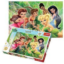 Trefl 260 Piece Kids Girls Disney Tinkerbell Fairies Fun Flying Jigsaw Puzzle