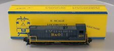 American Models S1219 S Scale Baltimore & Ohio Baldwin Switcher Diesel Locomotiv