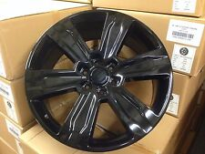 "4 New F150 Platinum 22x9"" Gloss Black OE Replica Ford Wheels 6x135 Truck Factory"