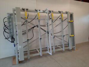 verleimpresse korpuspresse rahmenpresse verleimständer zentral hydraulisch