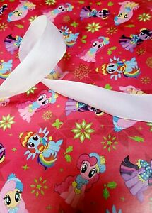 My little Pony red Gift Wrap Set, Paper And Ribbon, see description