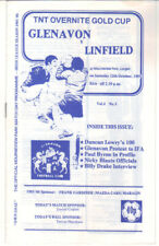 1985/86 Glenavon v Linfield - Gold Cup - 12th Oct - Vol 4 No 5