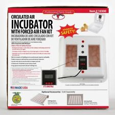 Circulated Air Egg Incubator Little Giant 10300 Chicken Duck Poultry Quail