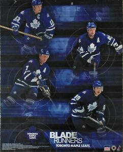 2002 Starline Poster #9670 Toronto Maple Leafs Blade Runners