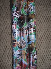 STAR WARS GIFT WRAP WRAPPING PAPER ROLL CHRISTMAS HOLIDAY 60 SQ. FEET