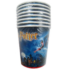 HARRY POTTER Chamber of Secrets 9oz PAPER CUPS (8) ~ Birthday Party Supplies