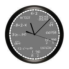 Math Formula Clock