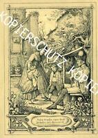 Schwarzwald - Imker  - Schmuckblatt - Hieronymus von Lucian Reich von 1852