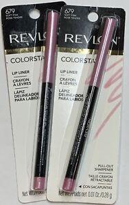 (2) Revlon Colorstay Lip Liner, 679 Soft Pink