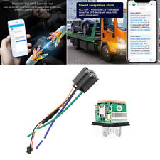 Car GPS Tracker Route Tracking Relay GSM Alarm APP Anti-theft Kill Oil Pump 1x