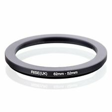 62-52 62mm to 52mm 62-52mm Matel Step-down Stepping Down Ring Filter Adapter