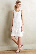 NEW ANTHROPOLOGIE $138 DOLAN WHITE INGEGLA LACE DRESS SZ XS EXTRA SMALL