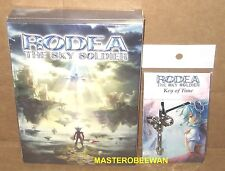 Rodea the Sky Soldier Limited Edition New Sealed & Pendant (Nintendo 3DS, 2015)