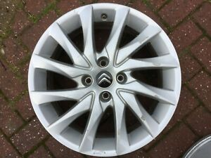 "CITROEN C4 PICASSO GRAND PICASSO 17"" SPARE ALLOY WHEEL 9687678480 9655832480"