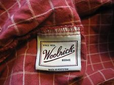"""WOOLRICH HOME~ COUNTRY PLAID~FULL~ FITTED~RUSTIC COLOR~DEPTH 14"""" DEEP SHEET#66"""