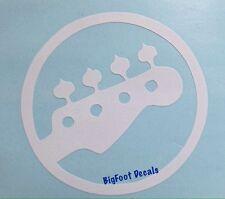 Guitar Music Decal Fret Lead Rhythm Concert Car Truck SUV Vinyl Window Sticker