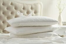 Luxury Comfy Goose Feather & Down Pillows Pairs - For Comfortable Sleep