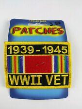 WORLD WAR 2 1939 - 1945 WWII Service VETERAN PATCH