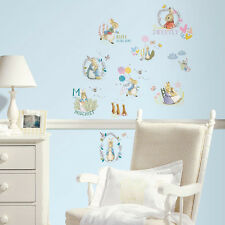 RoomMates Peter Rabbit Wall Stickers, Beatrix Potter Wall Stickers, Baby Sticker