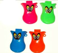 4 Fischio DUCK FUNNY TOY Party Bags FILLER Goody sacchetto regalo bambini rumorosi 1