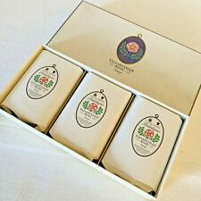 Penhaligons Elisabethan Rose vintage Seife 3 Seifen in Box Soap 255 g